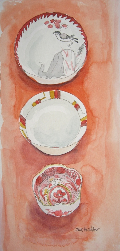 flowers and dishes 004