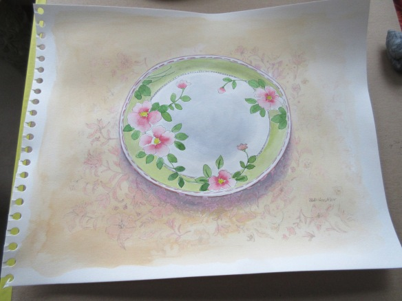 watercolor plate 003