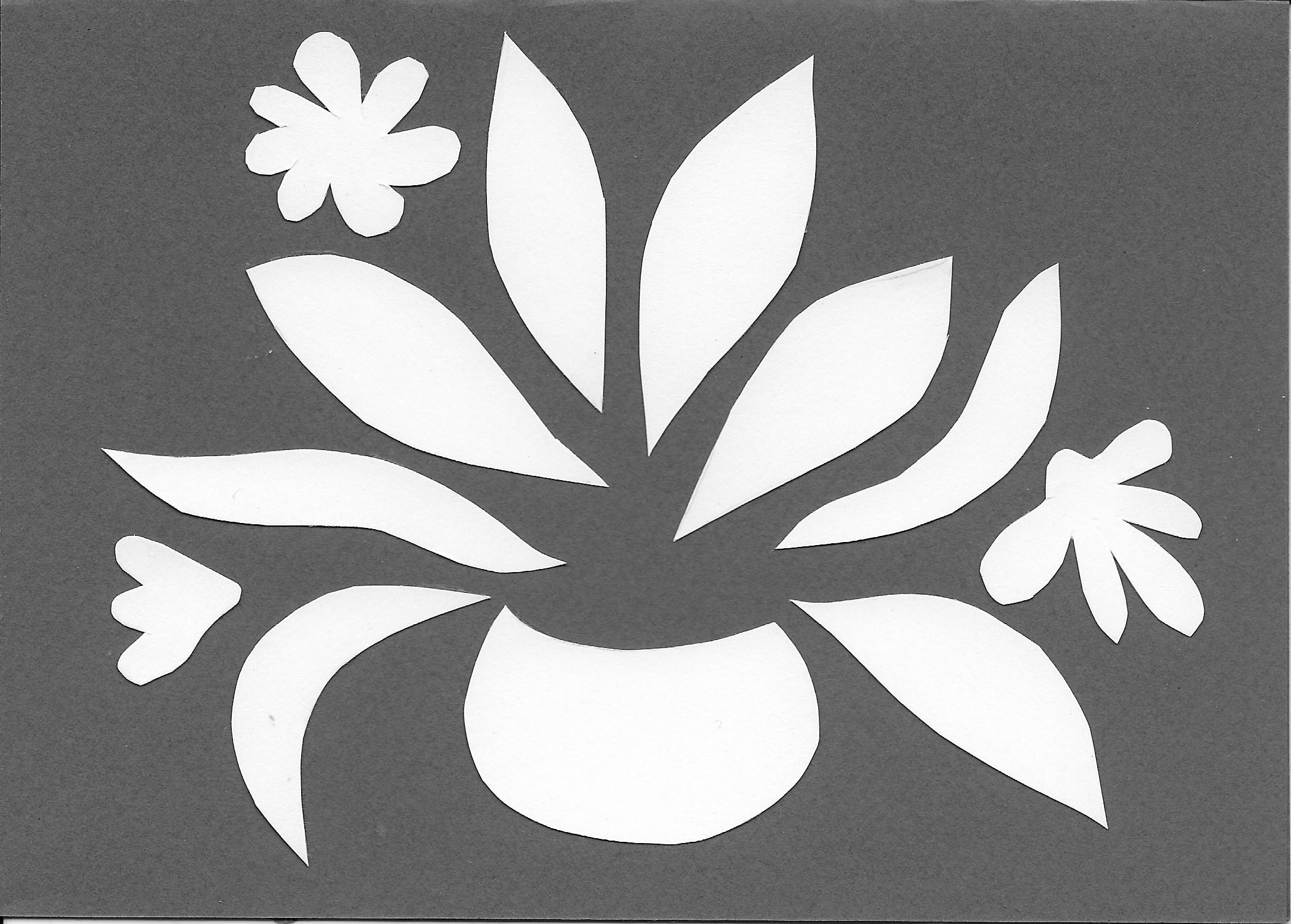 Cut Paper Floral Thetimidartist