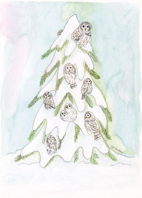 LowRes-signed-Dark_Owls-in-Snowy-Evergreen